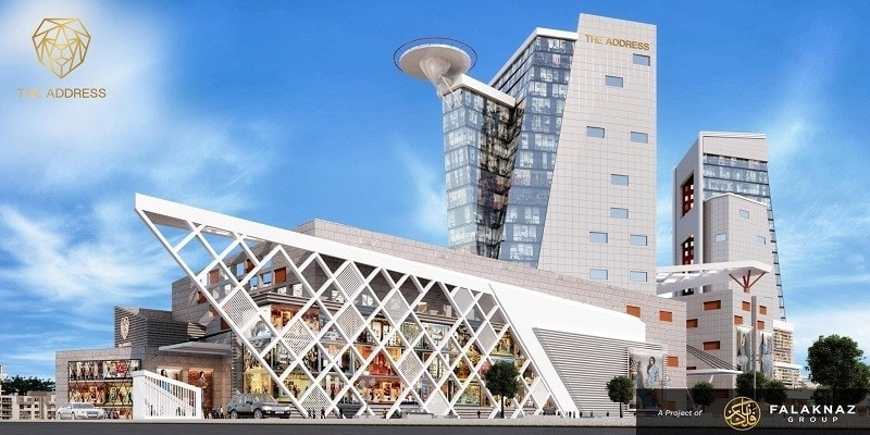 """""""The Address"""", which comprises an indoor shopping mall, corporate offices and serviced apartments."""