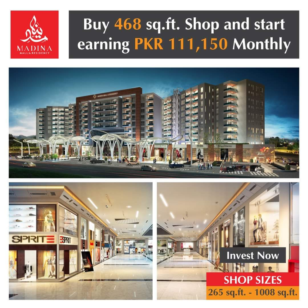 Luxury Apartments and Shopping Mall