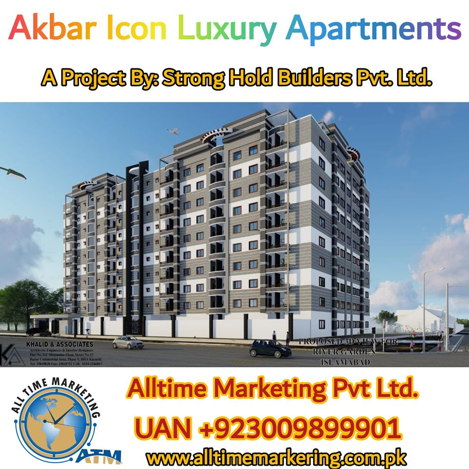 Akbar Icon 1,2&3 Bed Luxury Apartments