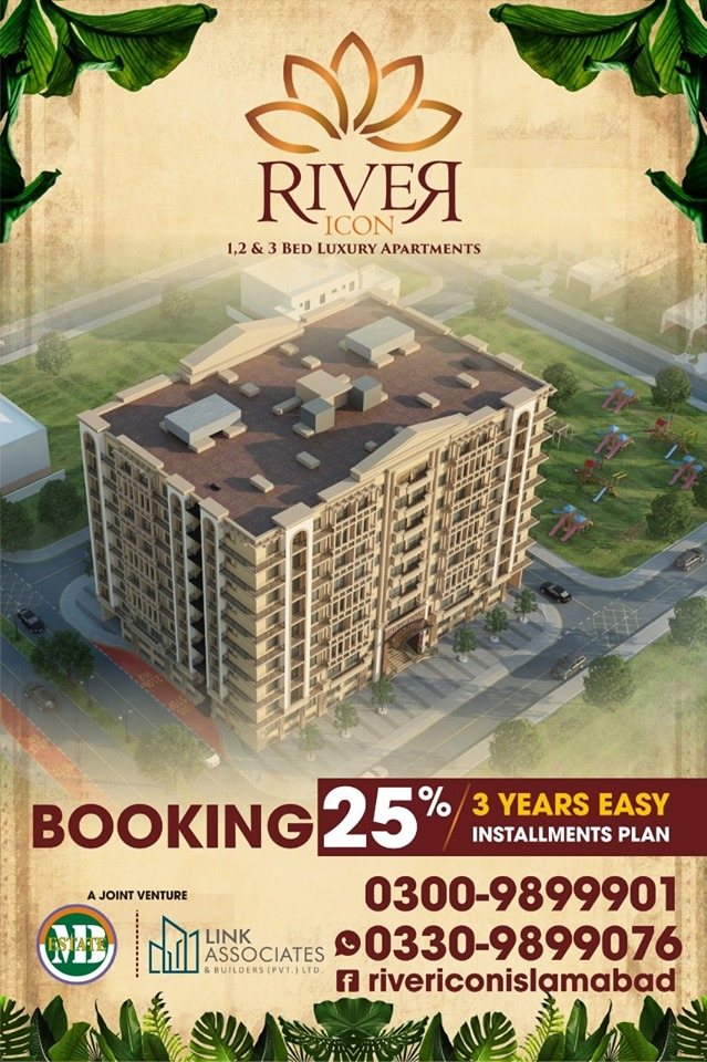 1, 2 & 3 Bed Luxury Apartments on easy Instalments