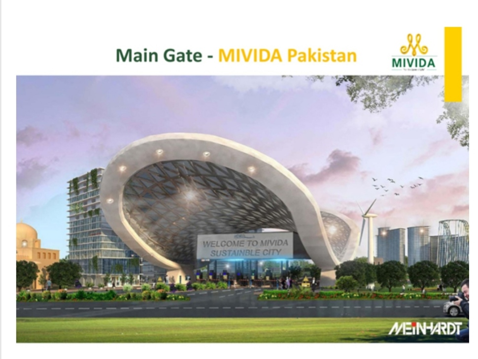 MIVIDA Housing Scheme Pakistan